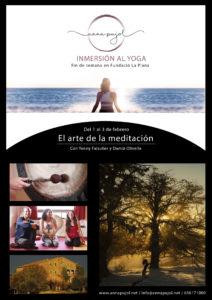 INMERSIÓN AL YOGA CON ANNA PUJOL: El Arte de la Meditación @ Fundació la Plana