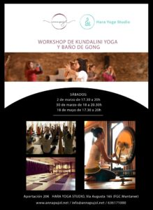 Workshop de Kundalini Yoga y baño de Gong @ Hara Yoga Studio